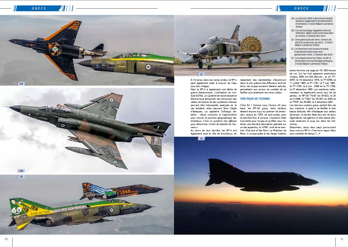 Air Power magazine (France) - Hellenic RF-4E (3)