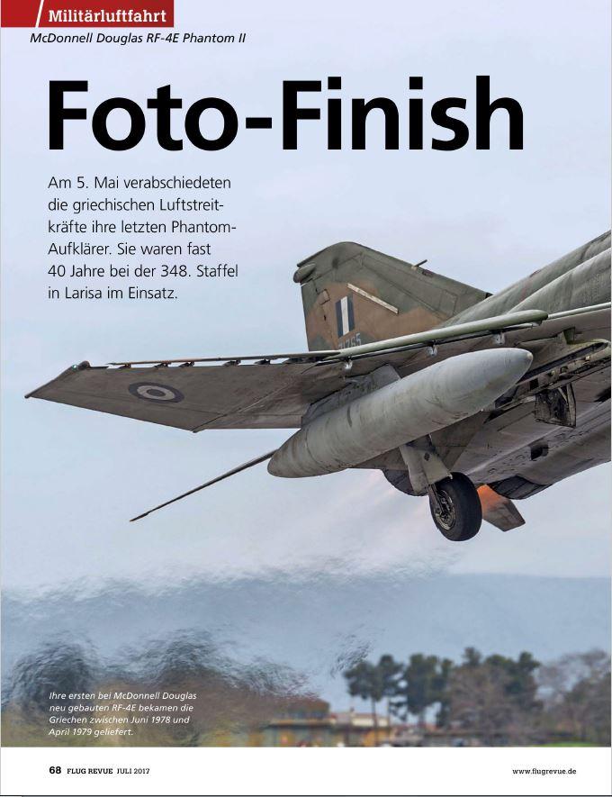 Flug Revue (Germany) - Hellenic RF-4E (2)