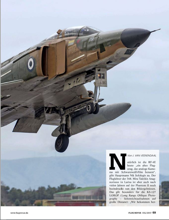 Flug Revue (Germany) - Hellenic RF-4E (3)
