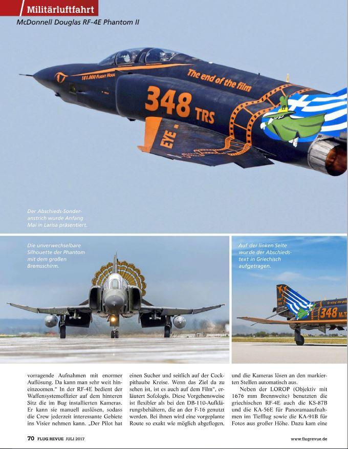 Flug Revue (Germany) - Hellenic RF-4E (4)