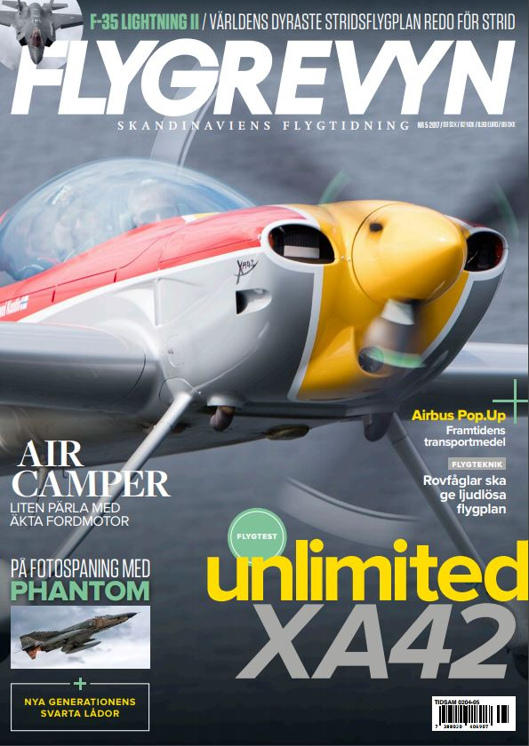 Flygrevyn - RF-4 Phantom (cover)