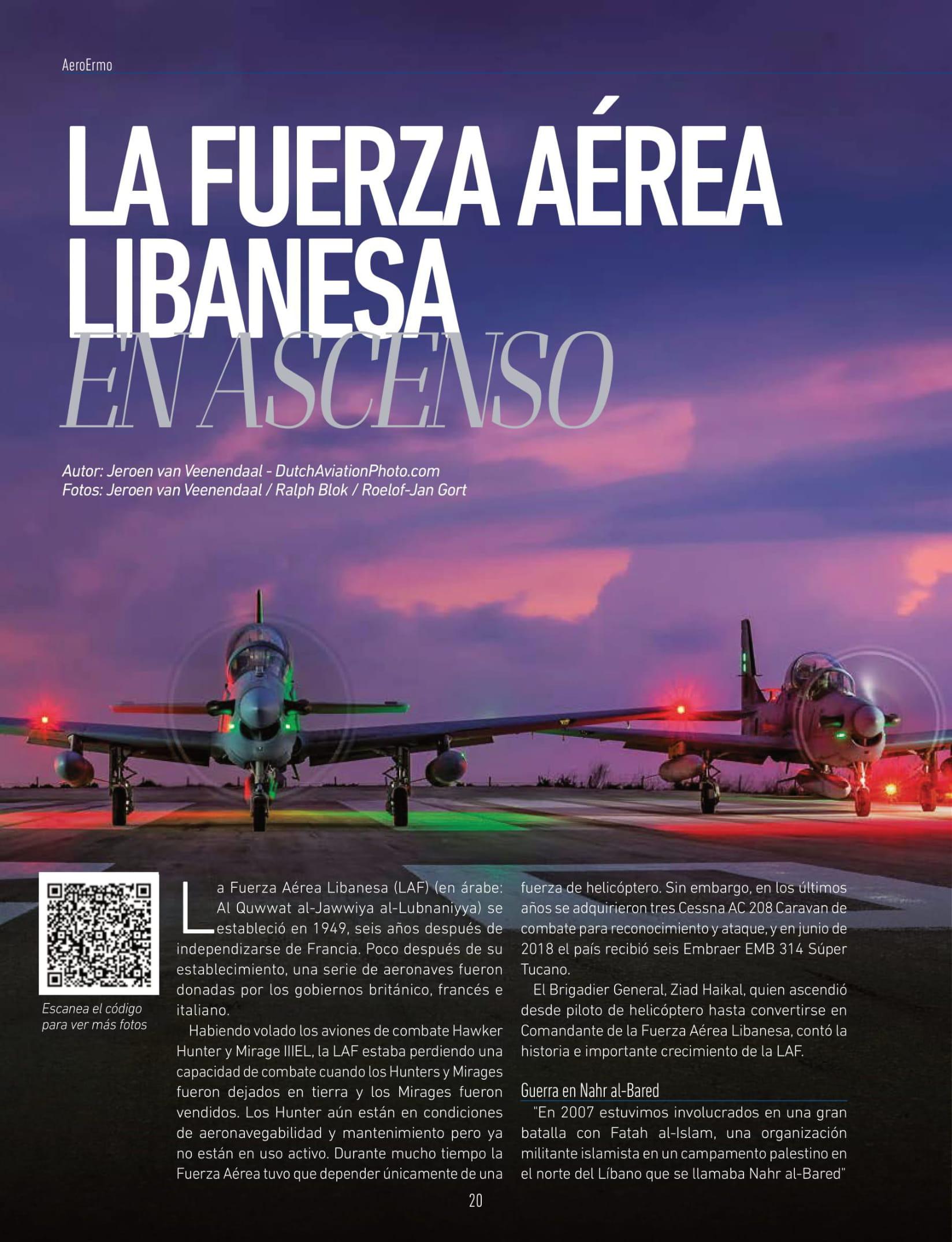 AeroErmo Revista(Colombia)_Lebanese Air Force-2