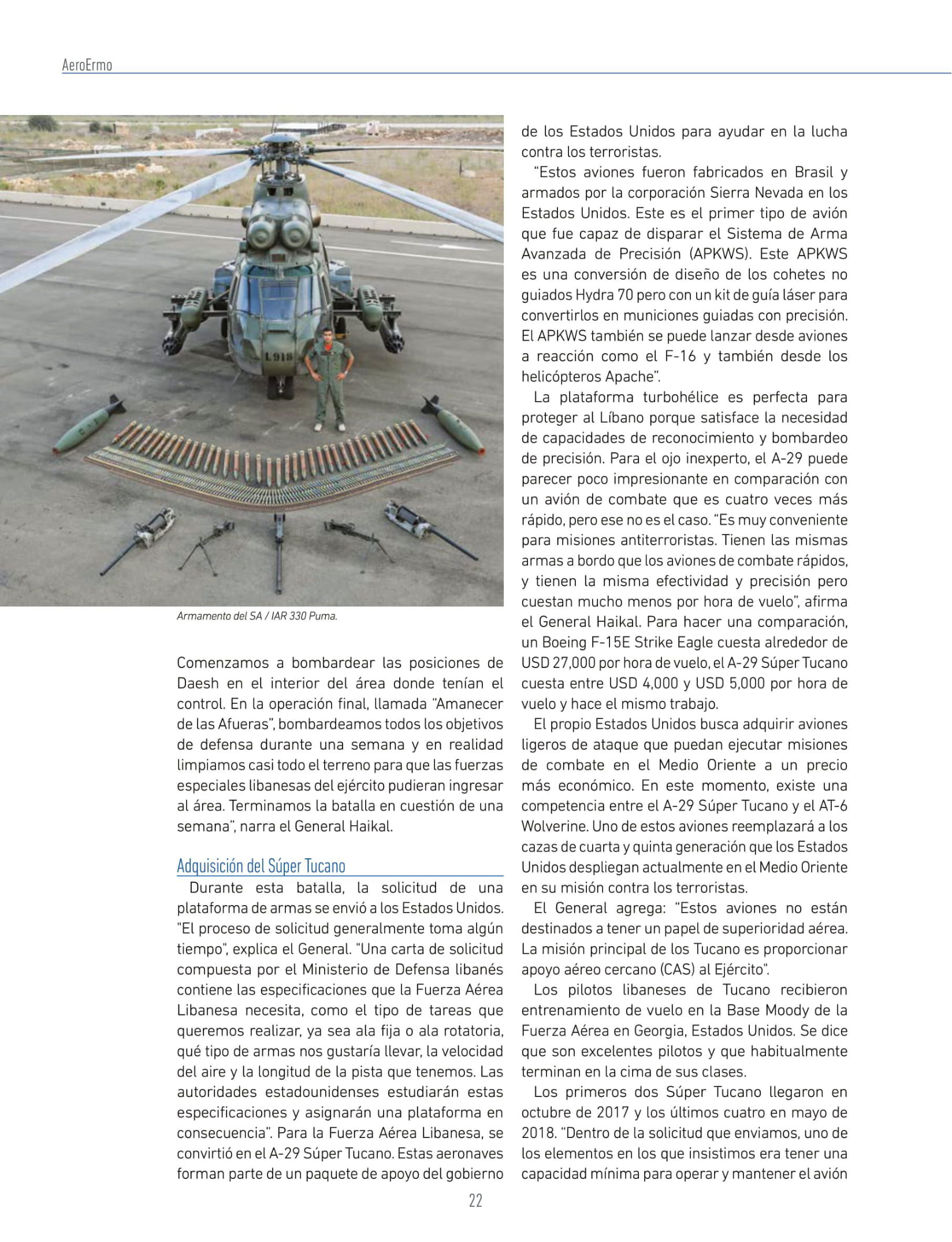 AeroErmo Revista(Colombia)_Lebanese Air Force-4