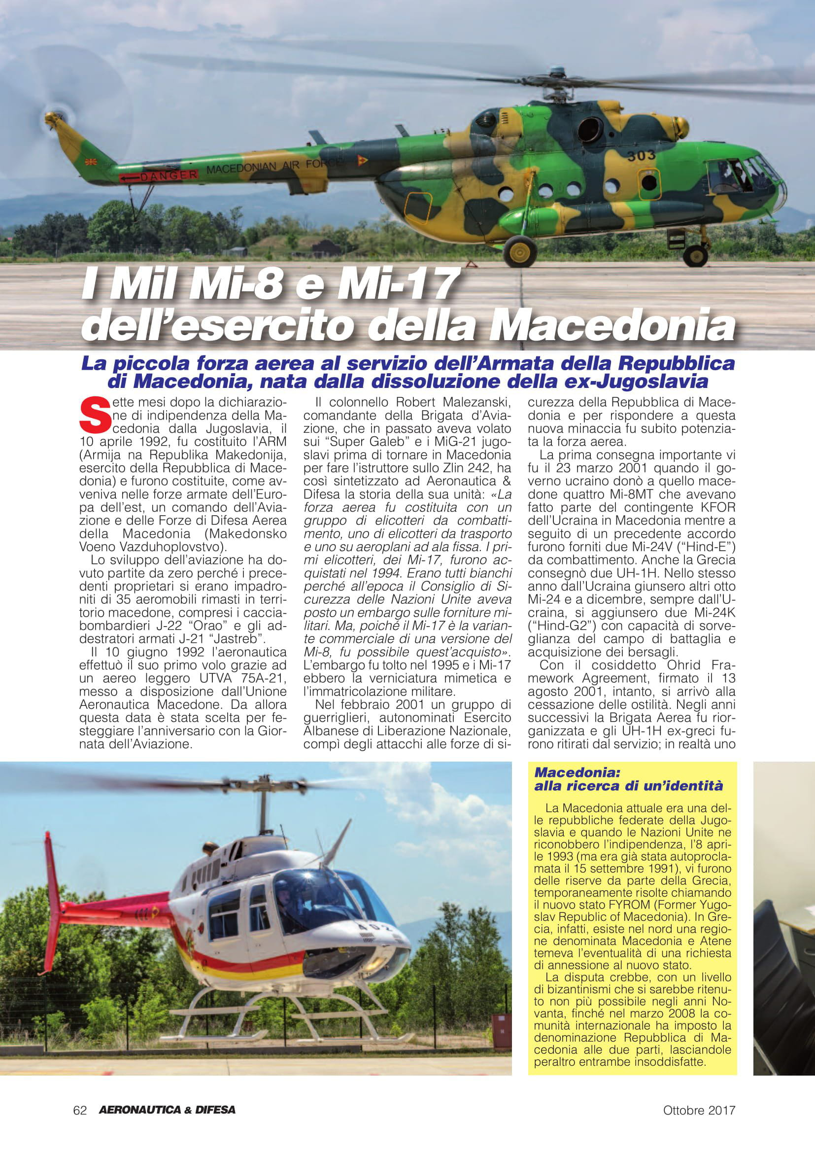 Aeronautica & Difesa (Italy)_Macedonian Air Force-2