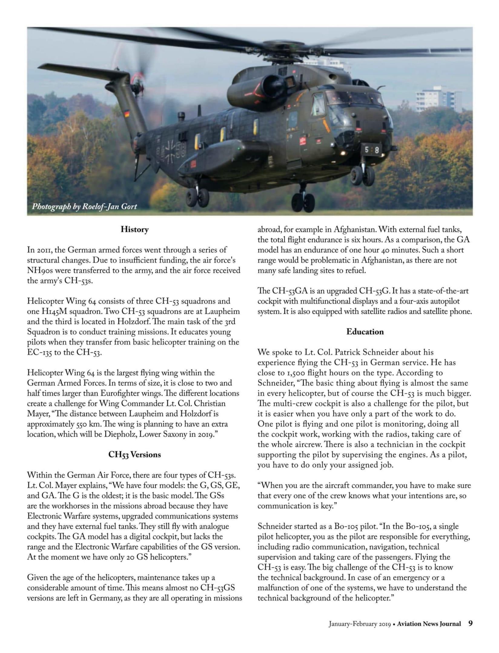 Aviation News Journal (Canada)_CH53s of the HSG 64, Laupheim AB-3