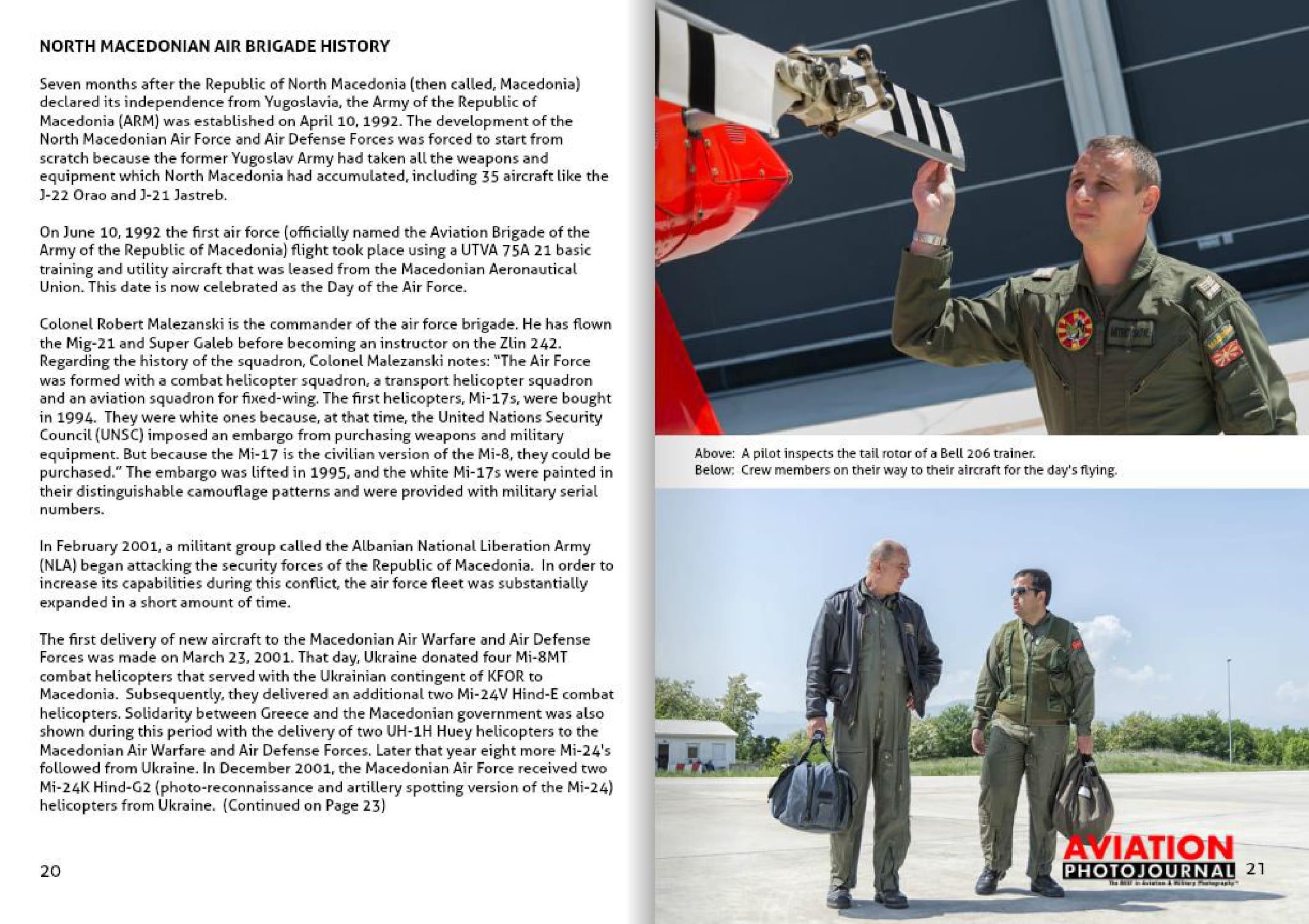 Aviation photojournal (USA)_Macedonian Air Force-04