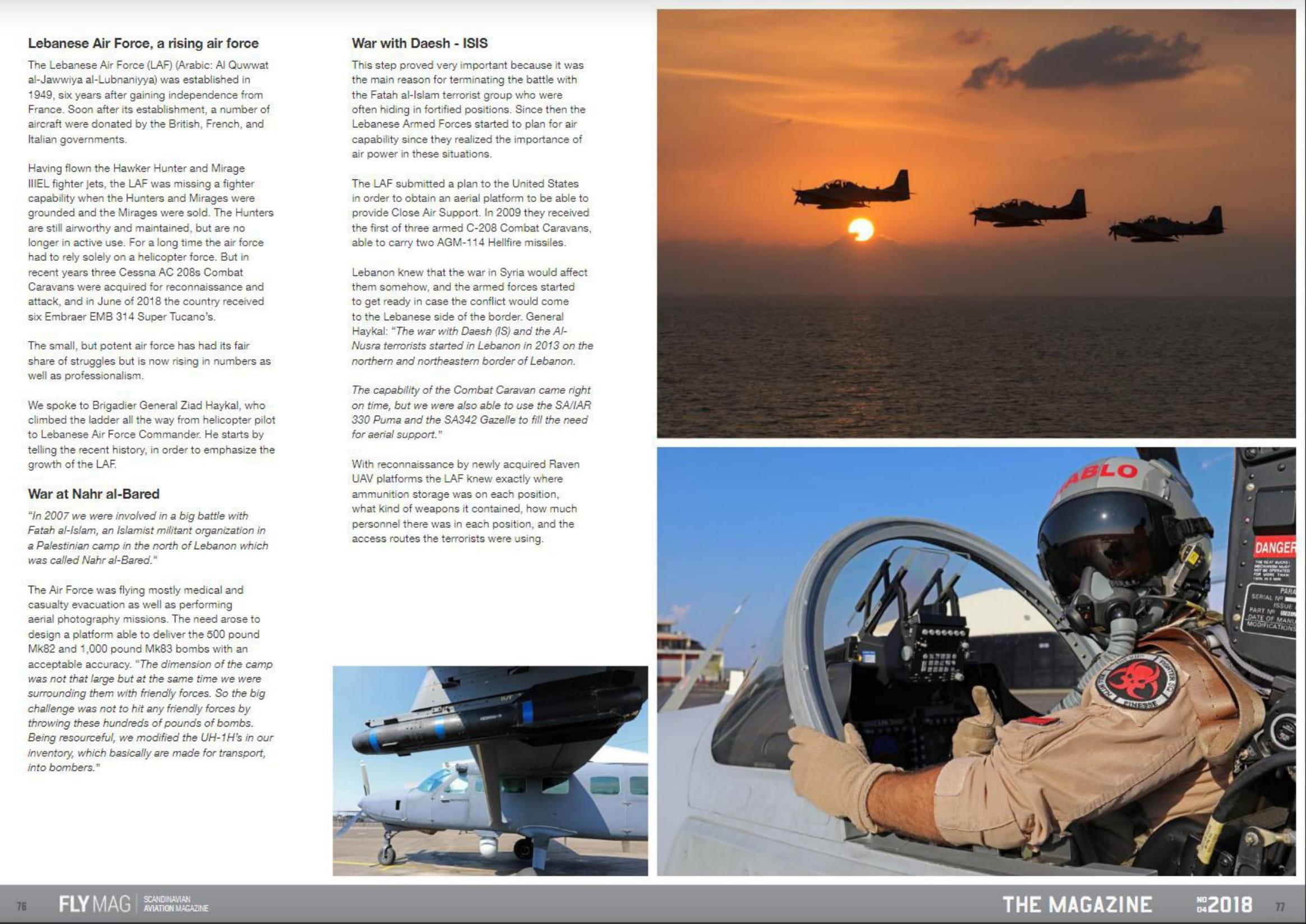 FLYMAG (Denmark)_Lebanese Air Force-3