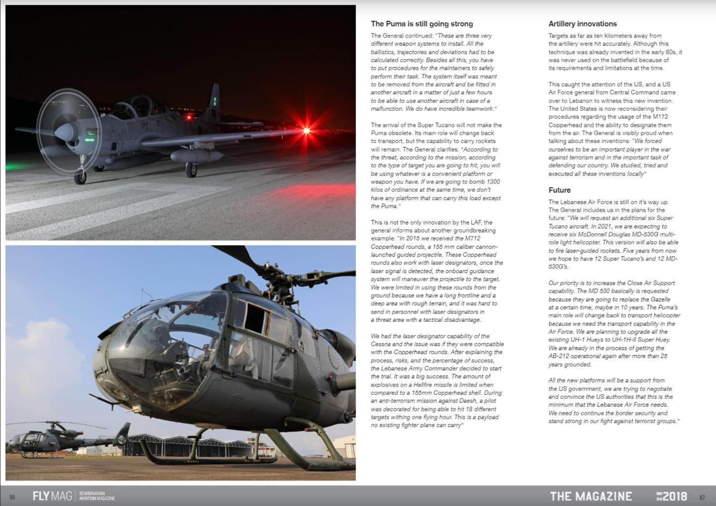 FLYMAG (Denmark)_Lebanese Air Force-8