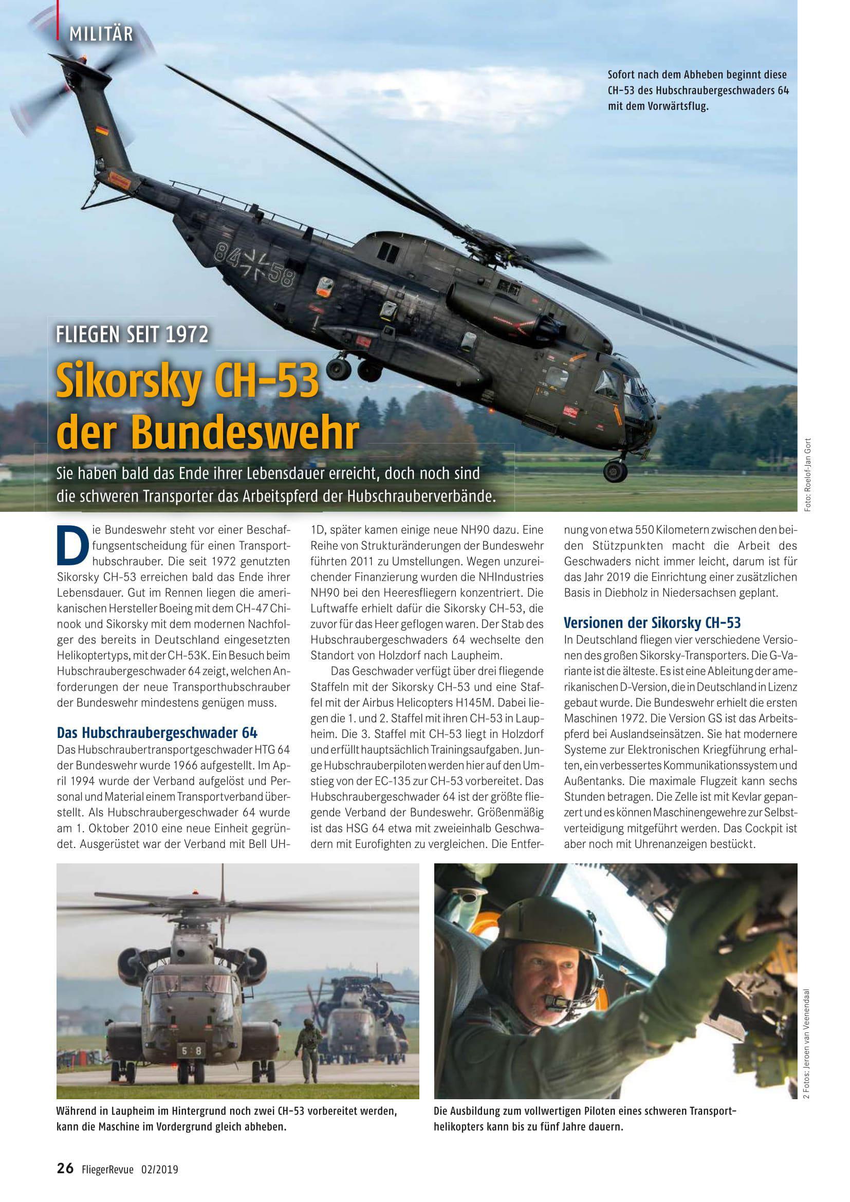 Flieger Revue (Germany)_CH53 HSG64 Laupheim-2