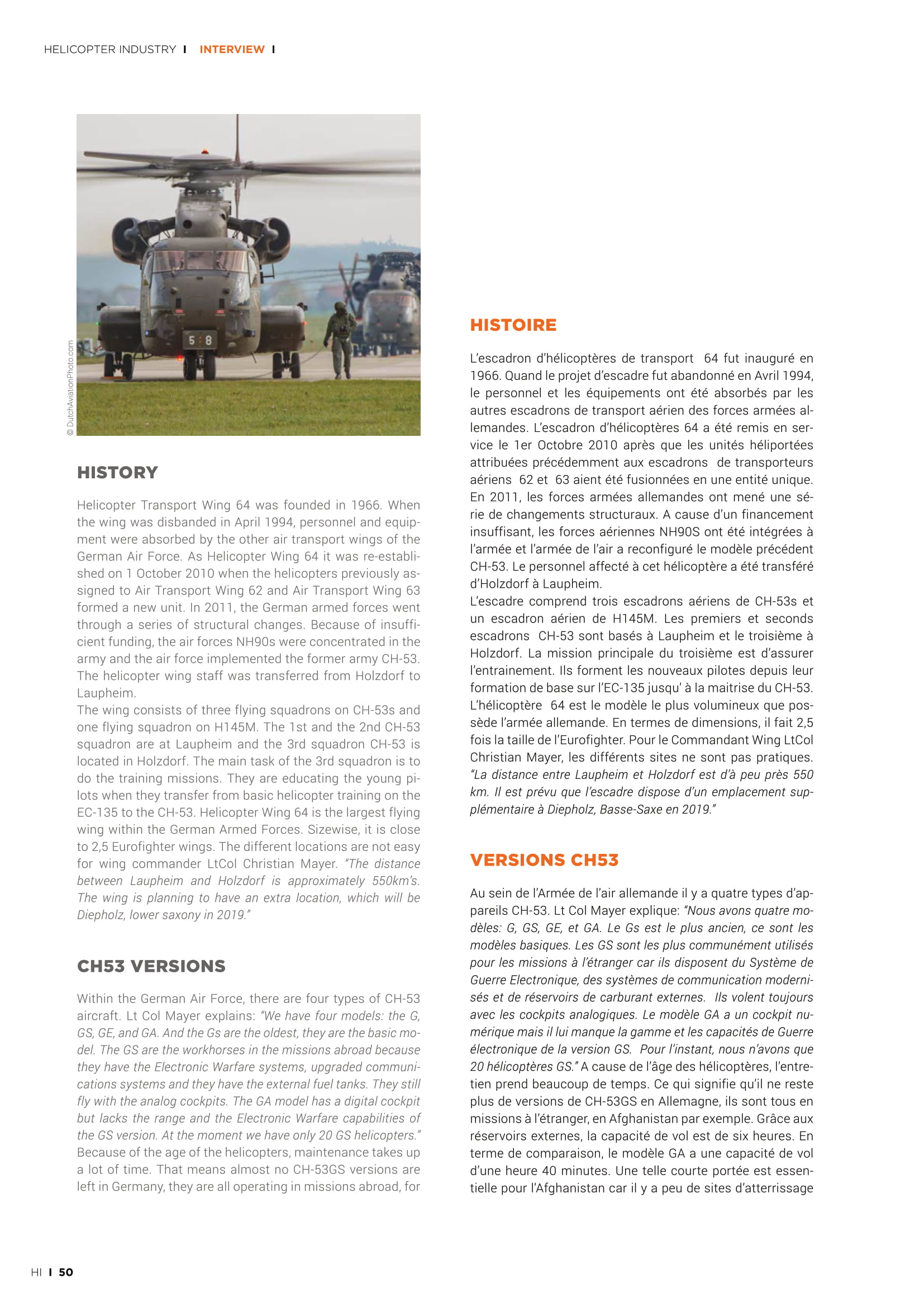 Helicopter Industry (France)_German Air Force CH53-04