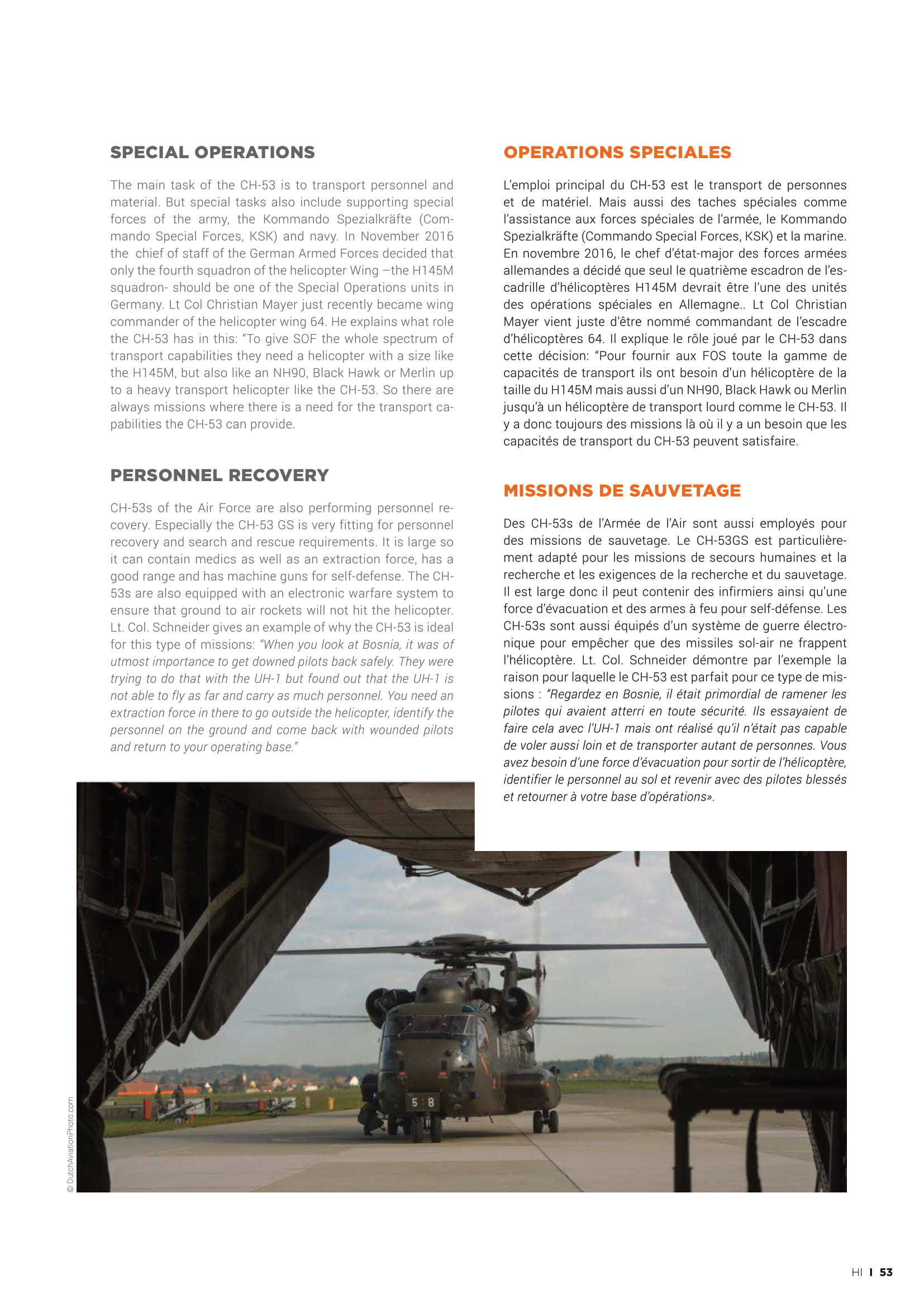 Helicopter Industry (France)_German Air Force CH53-07