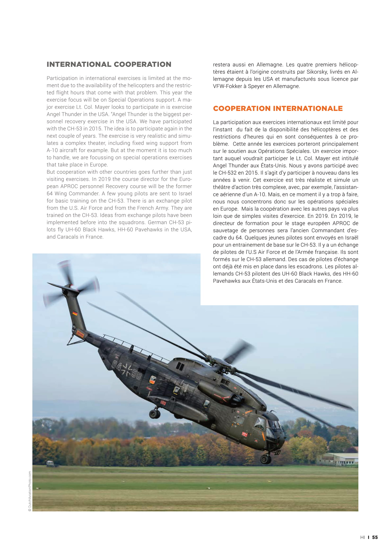 Helicopter Industry (France)_German Air Force CH53-09