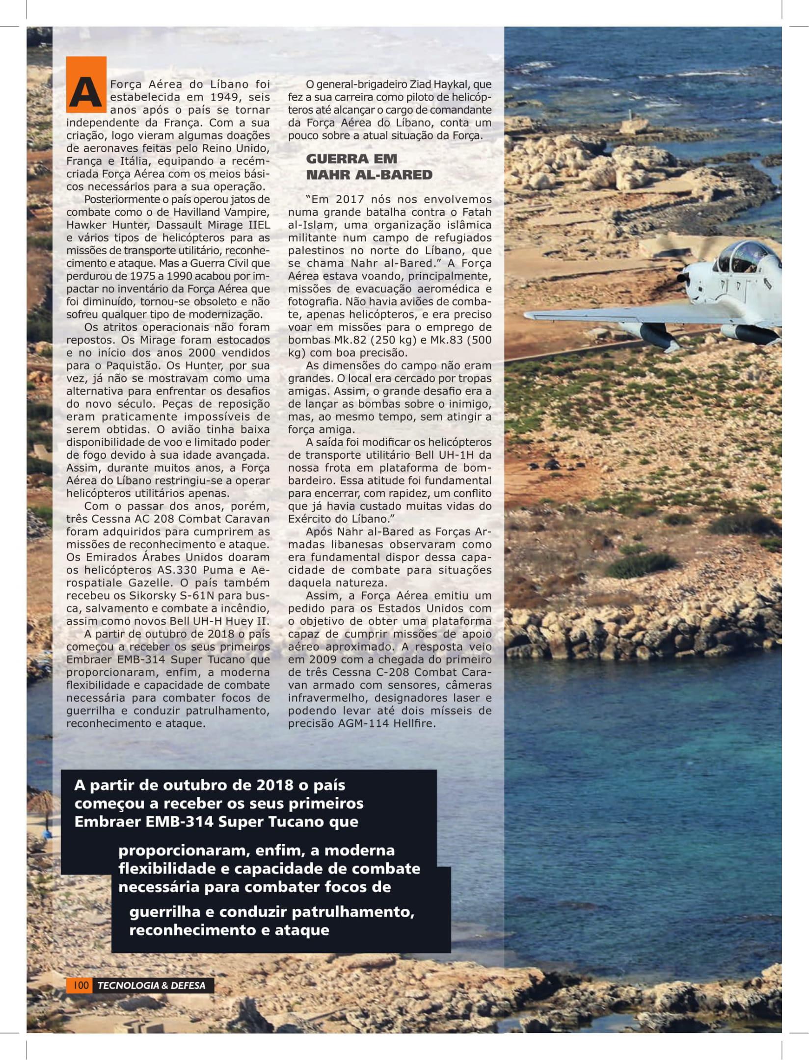 Tecnologia & Defesa (Brazil)_Lebanese Air Force-4