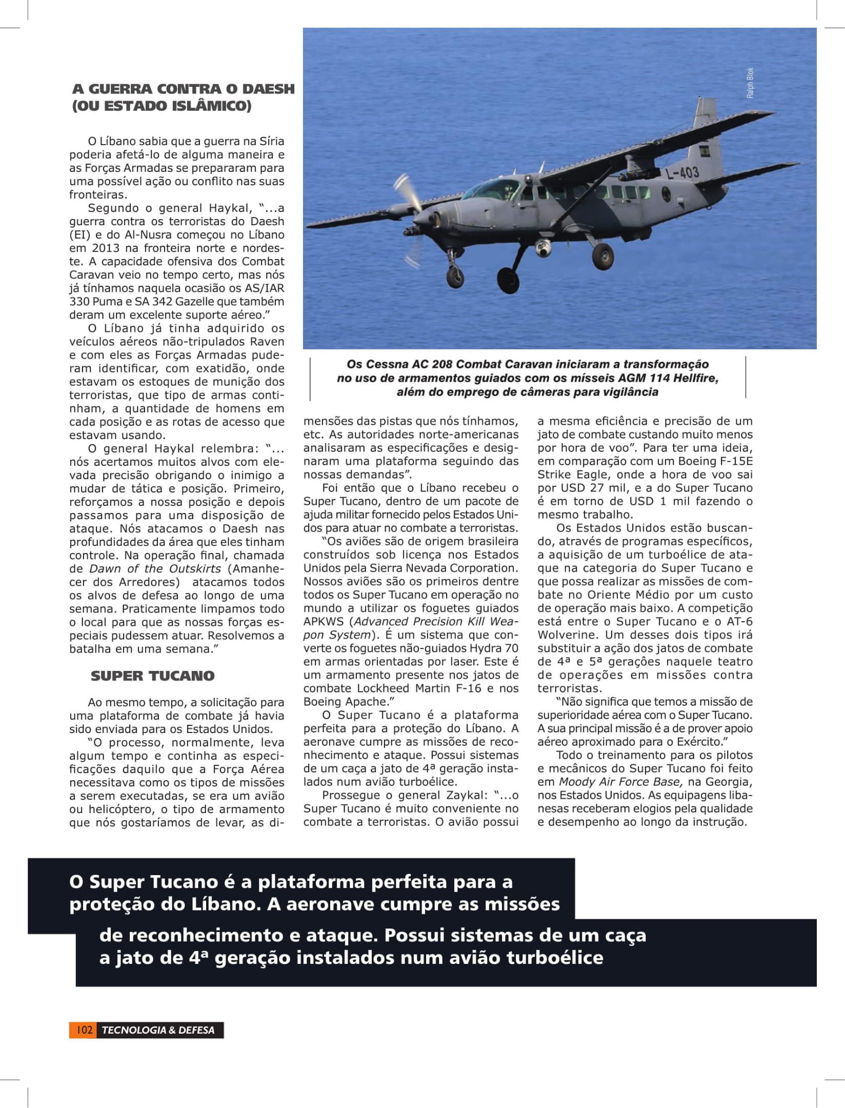 Tecnologia & Defesa (Brazil)_Lebanese Air Force-6