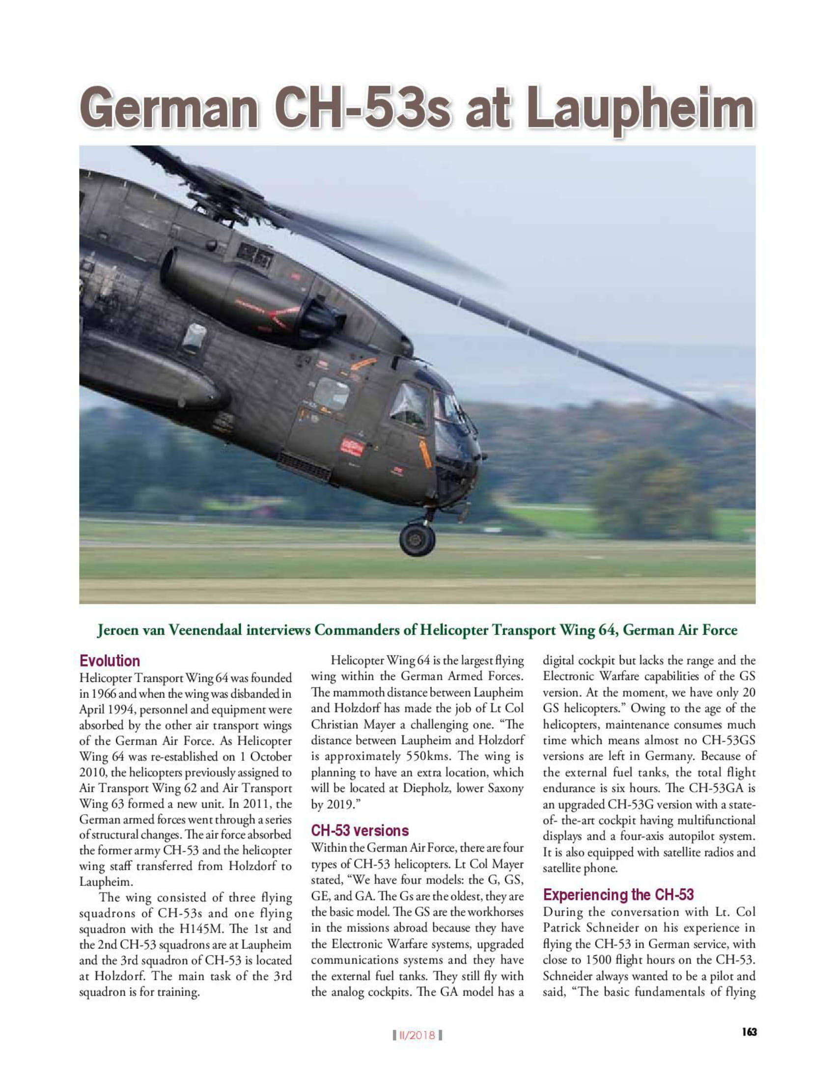 Vayu Aerospace & Defence Review (India) CH-53s HSG 64-2