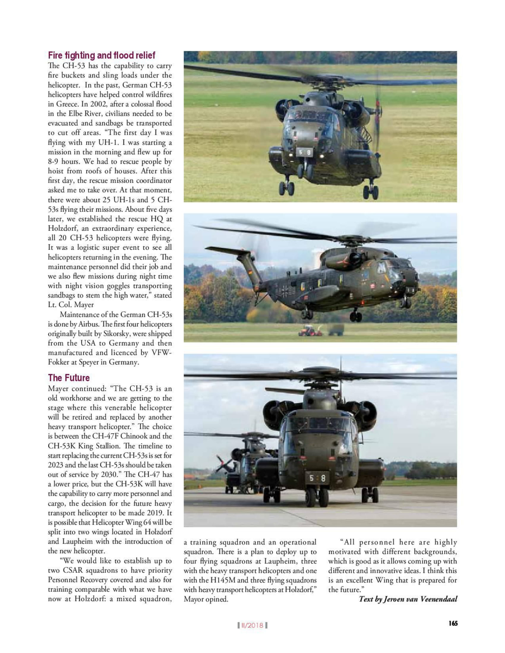 Vayu Aerospace & Defence Review (India) CH-53s HSG 64-4